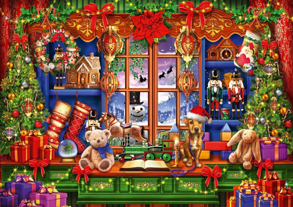 Ye Old Christmas Shoppe 1000 Piece Jigsaw Puzzle