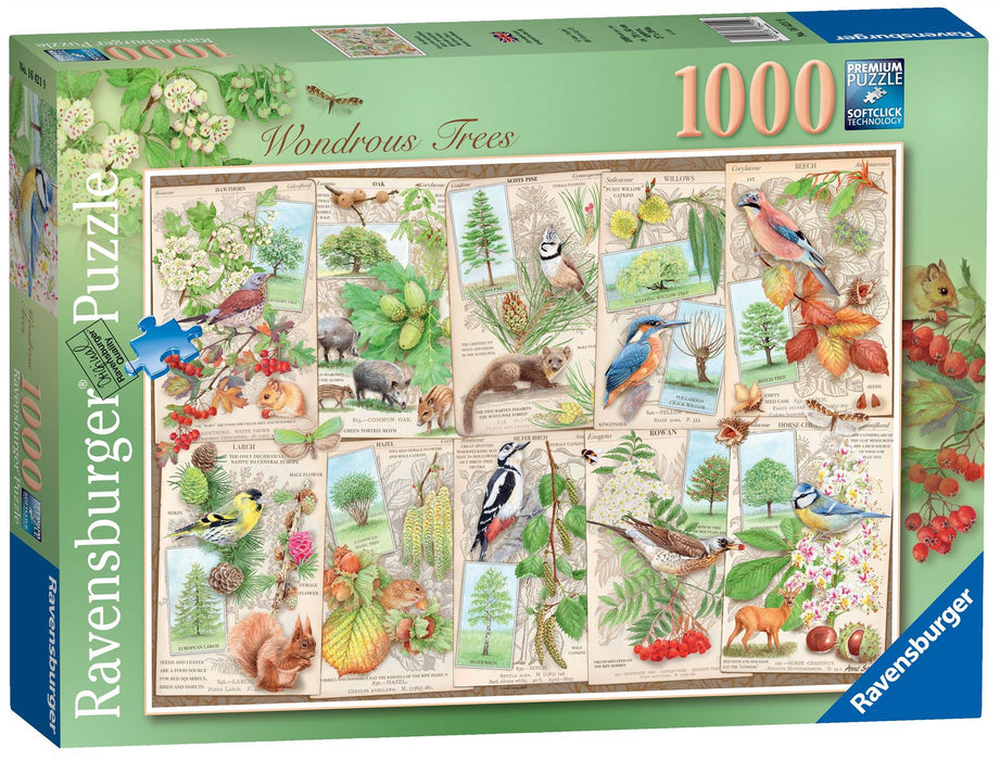 Ravensburger Wondrous Trees, 1000 Piece Jigsaw Puzzle 1