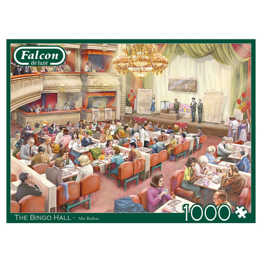 Falcon The Bingo Hall 1000 Piece Jigsaw Puzzle