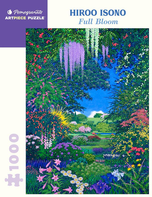 Hiroo Isono: Full Bloom 1000 Piece Jigsaw Puzzle