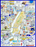 Map of New York City - Tim Bulmer 1000 Piece Jigsaw Puzzle