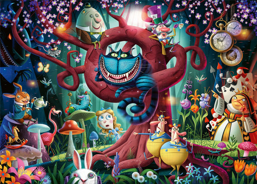 Ravensburger Almost Everyone is Mad (Alice in Wonderland), 1000 Piece Jigsaw Puzzle