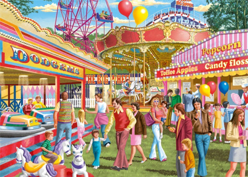 Fun at the Fair - Falcon de Luxe 500XL Piece Jigsaw Puzzle - All Jigsaw Puzzles
