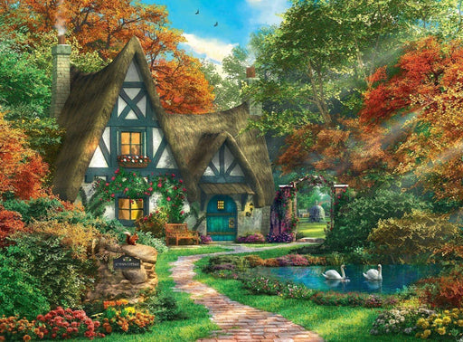 Cottage Hideaway 500 Piece Jigsaw Puzzle - All Jigsaw Puzzles