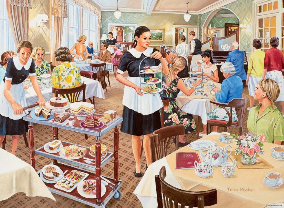 Happy Days at Work, The Waitress 500 Piece Jigsaw Puzzle