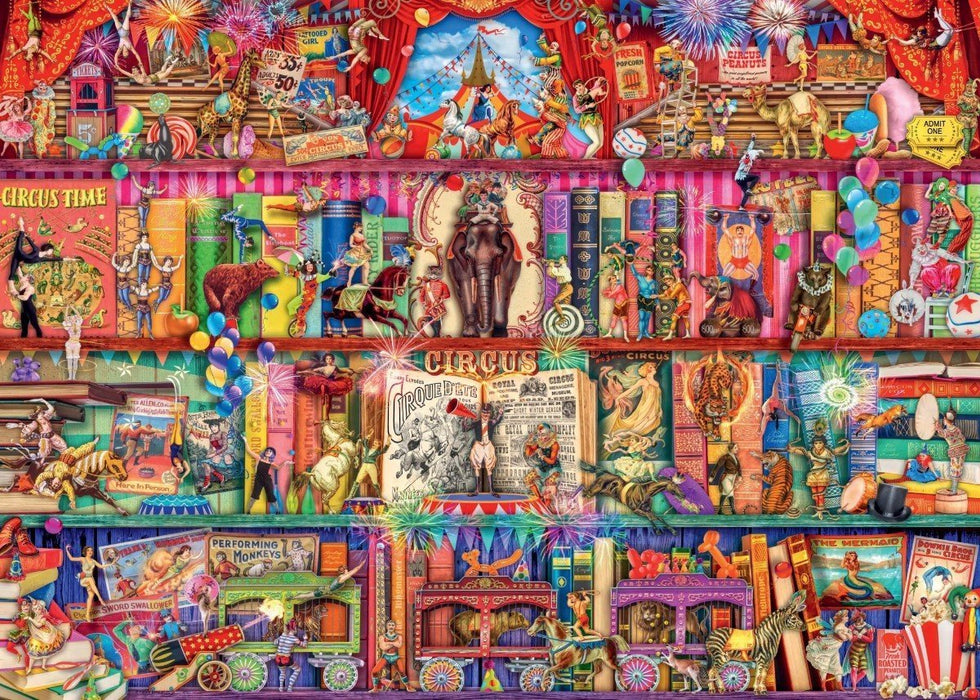 The Greatest Show on Earth 1000 Piece Jigsaw Puzzle