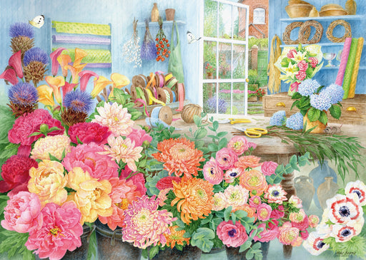 The Florist's Workbench 1000 Piece Jigsaw Puzzle