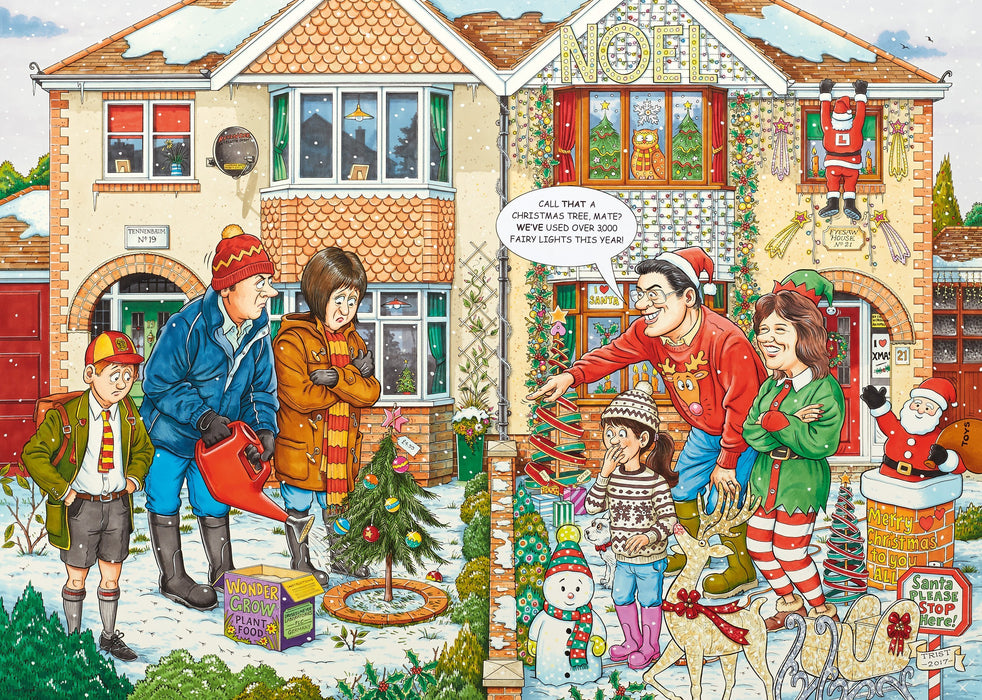 WHAT IF? No.20 - Christmas Lights 1000 Piece Jigsaw Puzzle