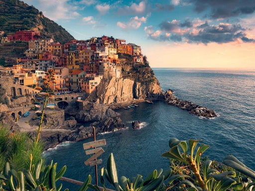 View of Cinque Terre, Italy 1500 Piece Jigsaw Puzzle