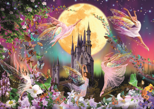 Dancing Fairies 500 Piece Jigsaw Puzzle