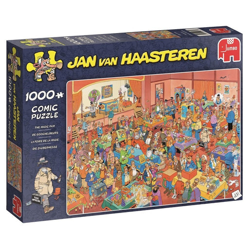 The Magic Fair 1000 Piece Jigsaw Puzzle by Jan Van Haasteren
