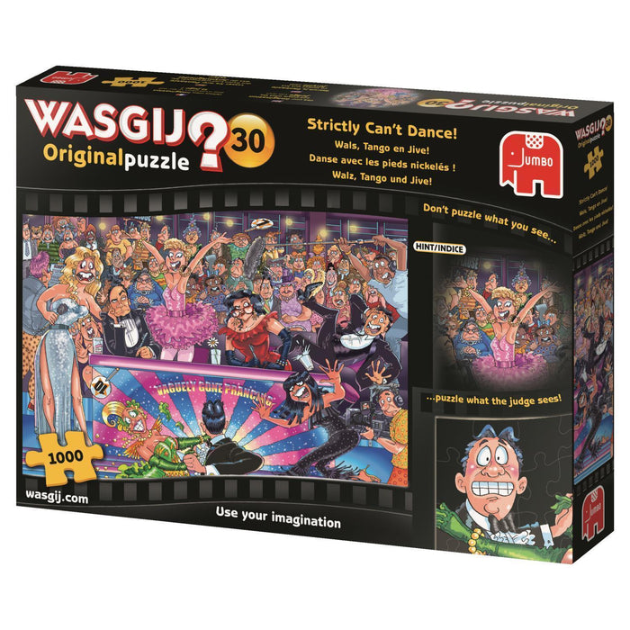 Wasgij Original 30 Strictly Can't Dance 1000 piece jigsaw puzzle