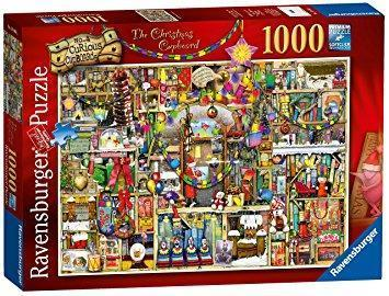 The Christmas Cupboard 1000 Piece Jigsaw Puzzle