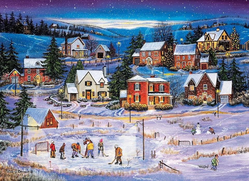 Stars on the Ice by Bourque 1000 Piece Jigsaw Puzzle