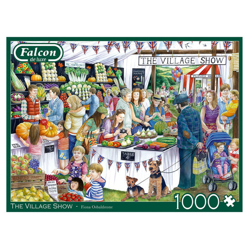 Falcon de Luxe The Village Show 1000 Piece Jigsaw Puzzle