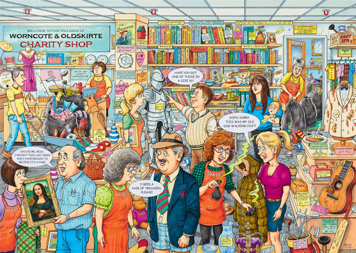 Best of British - The Charity Shop 1000 Piece Jigsaw Puzzle
