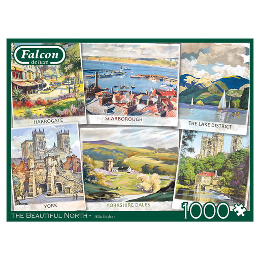 Falcon The Beautiful North 1000 Piece Jigsaw Puzzle