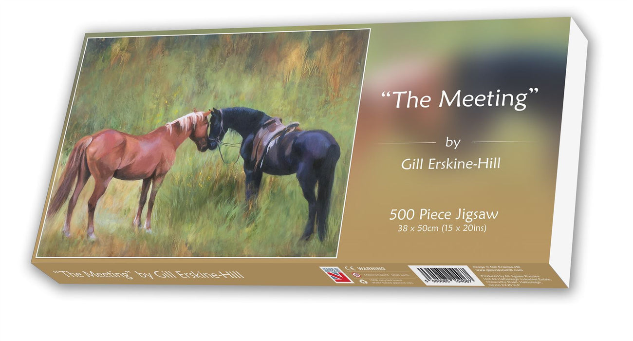 The Meeting - Gill Erskine-Hill Jigsaw Puzzle 500 piece