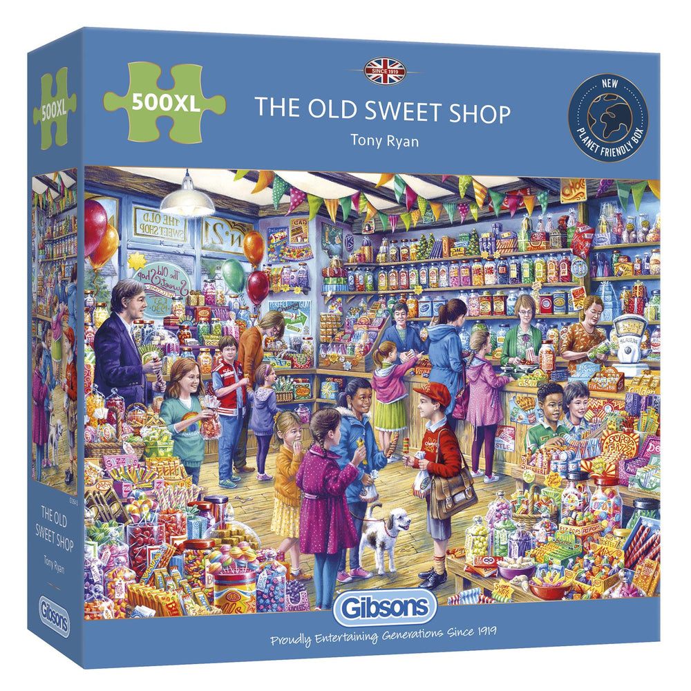 The Old Sweet Shop 500XL Piece Jigsaw Puzzle