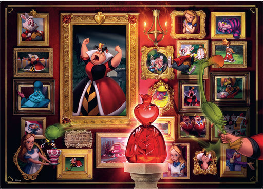 Ravensburger Villainous Queen of Hearts 1000 Piece Jigsaw Puzzle
