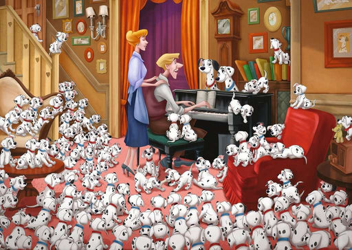 Disney's 101 Dalmations 1000 Piece Jigsaw Puzzle