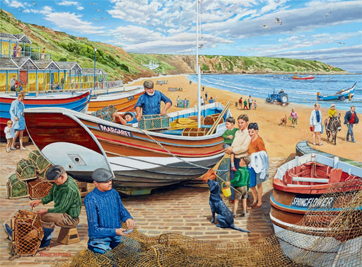 Ravensburger Happy Days at Work, The Fisherman, 500 Piece Jigsaw Puzzle
