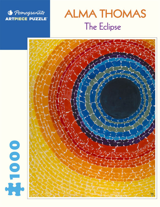 Alma Thomas: The Eclipse 1000 Piece Jigsaw
