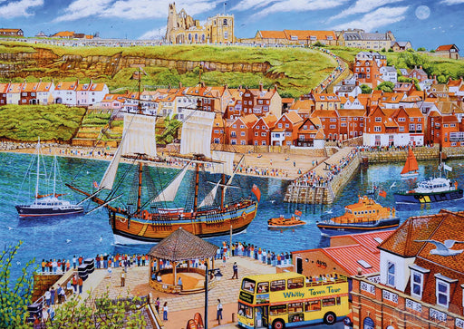 Endeavour Whitby 500 Piece Gift Jigsaw Puzzle