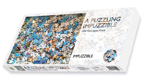 A Puzzling impuzzible - Impuzzible No.21 - 1000 Piece Jigsaw Puzzle box