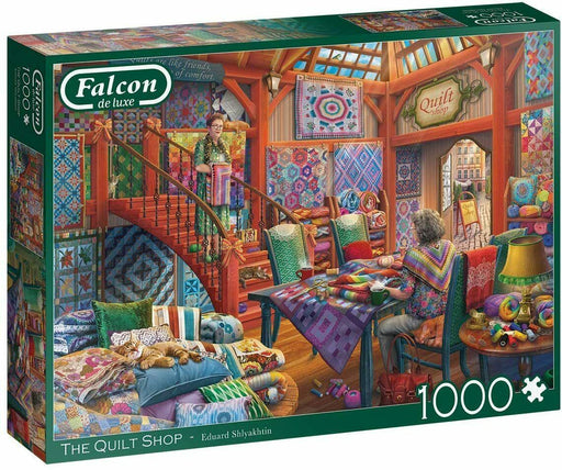 Falcon de luxe The Quilt Shop 1000 Piece Jigsaw