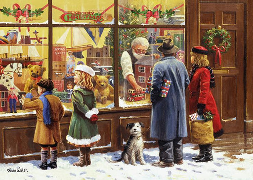 The Christmas Window 500 Piece Jigsaw Puzzle-2