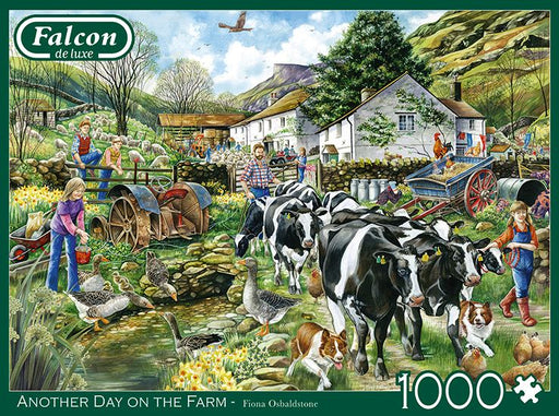Falcon de luxe Another Day on the Farm 1000 Piece Jigsaw Puzzle 1