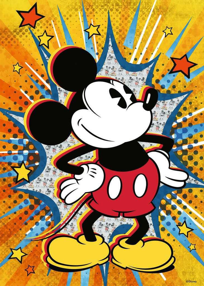 Retro Mickey 1000 Piece Jigsaw Puzzle