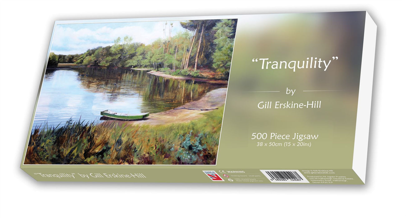 Tranquility -500 Piece Gill Erkine-Hill Jigsaw Puzzle