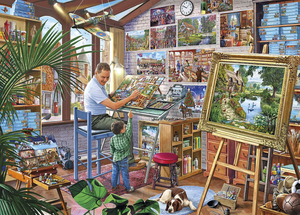 Gibsons A Work of Art 500XL piece Jigsaw Puzzle