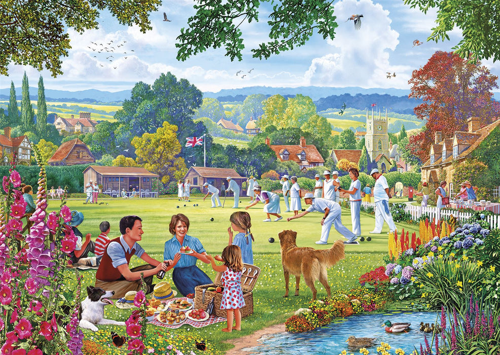 Gibsons Bowling by the Brook 500 piece Jigsaw Puzzle