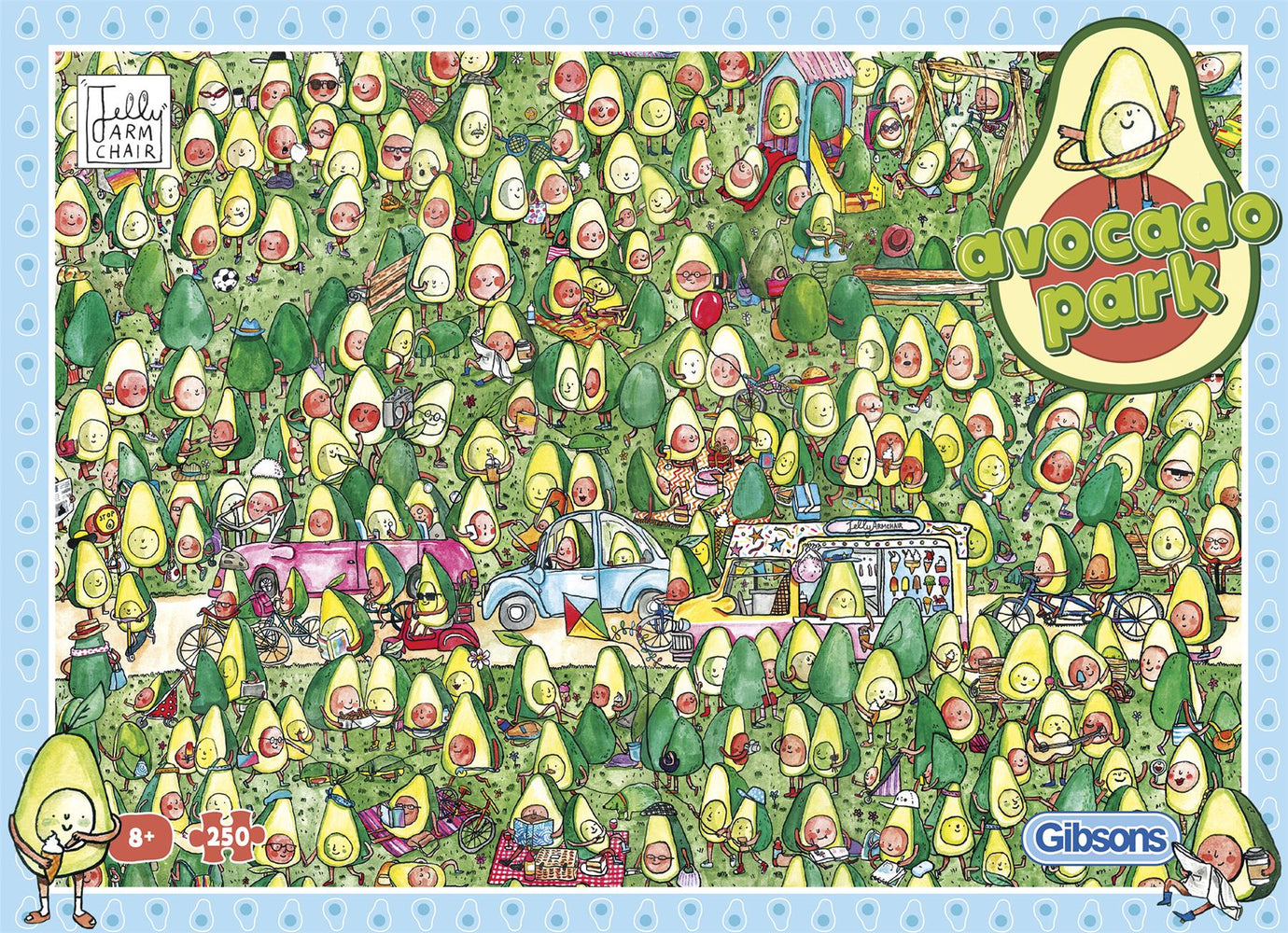 Avocado Park 250 XL Piece Jigsaw Puzzle