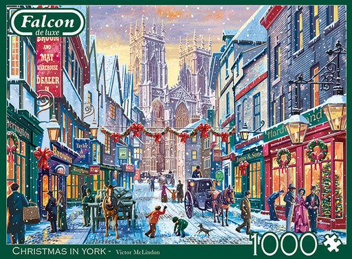 Christmas in York 1000 Piece Jigsaw Puzzle
