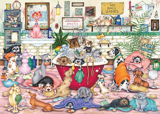 Bert's Bath Night 1000 Piece Jigsaw Puzzle