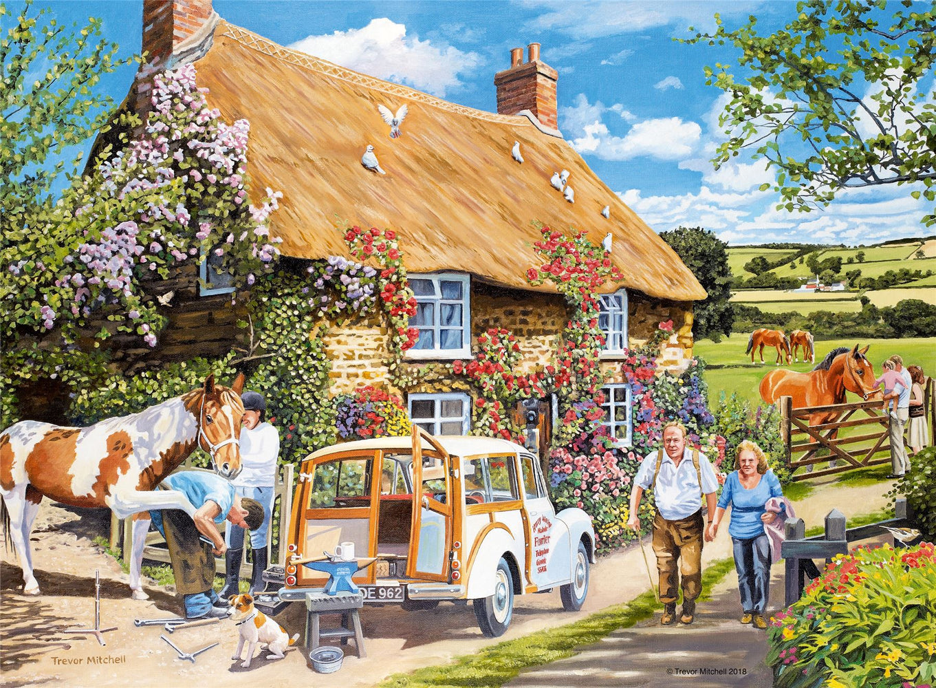 The Country Cottage 100XXL Piece Jigsaw Puzzle