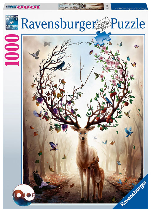 Ravensburger Magical Deer, 1000 Piece Jigsaw Puzzle 1