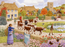 Autumn Village - Sarah Adams 1000 or 500XL Piece Jigsaw Puzzle