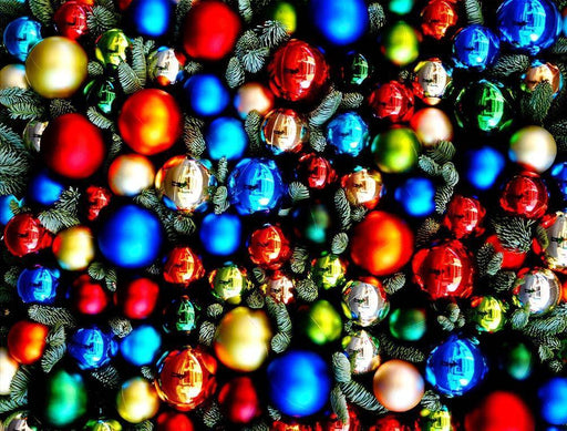 Christmas Baubles - Impuzzible - 1000 Piece Jigsaw Puzzle