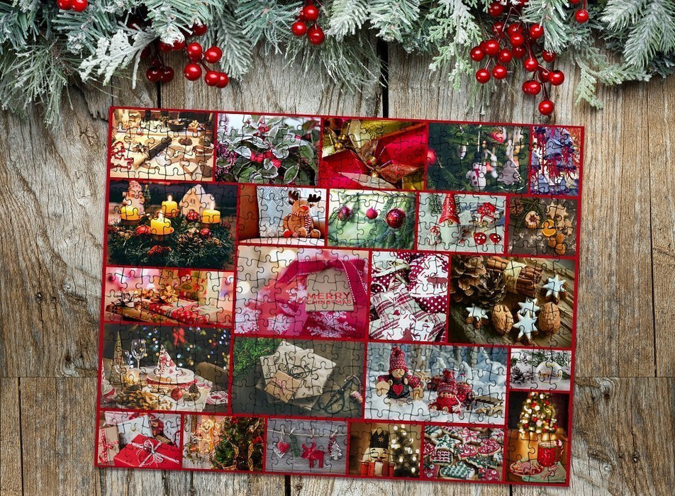 Christmas montage jigsaw puzzle