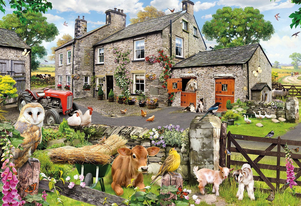 Farmyard Friends 100XXL Piece Jigsaw Puzzle