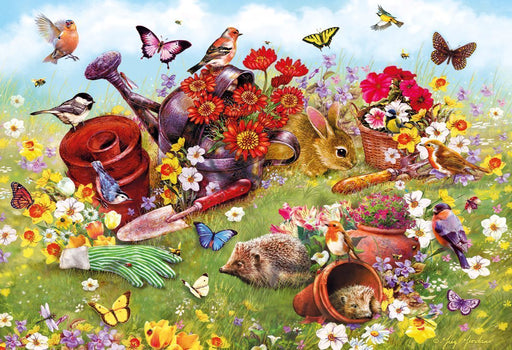 In the Garden 500 Piece Jigsaw Puzzle - All Jigsaw Puzzles