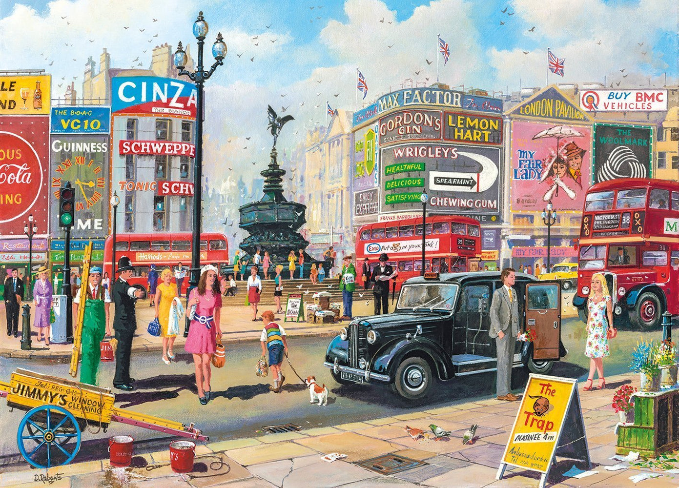 Piccadilly 1000 Piece Jigsaw Puzzle