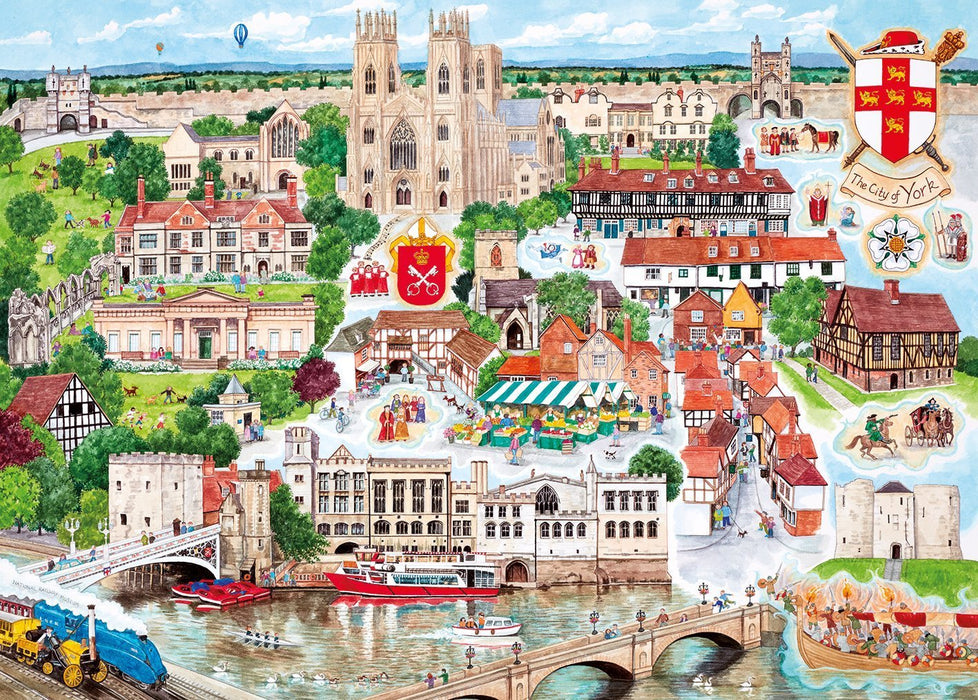 York 1000 Piece Jigsaw Puzzle