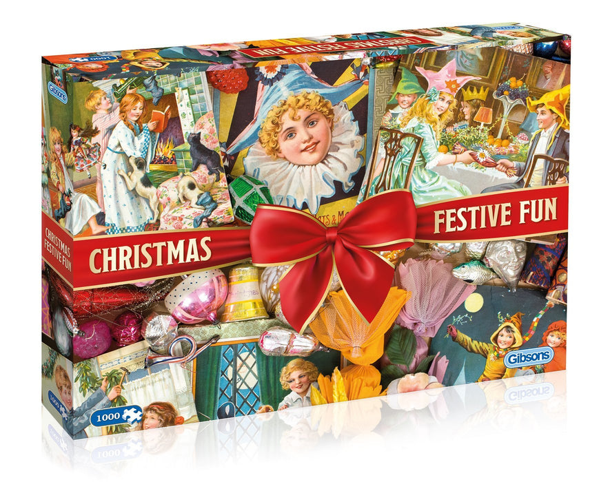 Christmas Festive Fun 1000 Piece Jigsaw Puzzle