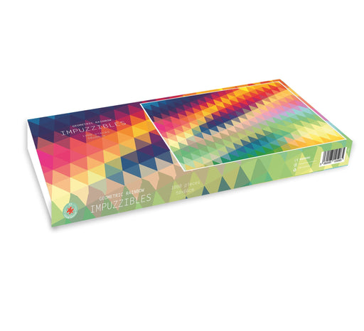 Geometric Rainbow - Impuzzible - 1000 pc. jigsaw puzzle